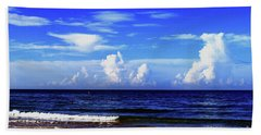 Beach Towel featuring the photograph Beautiful Ocean View by Gary Wonning