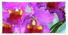 Beautiful Orchids  Beach Sheet
