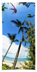 Beach Towel featuring the photograph Beautiful Palms Of Maui 17 by Micah May