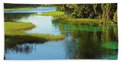 Beautiful River Beach Sheet