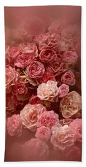 Beautiful Roses 2016 Beach Towel by Richard Cummings