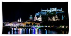Beach Towel featuring the photograph Beautiful Salzburg by David Morefield