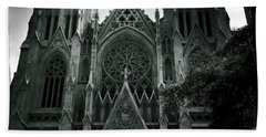 Beautiful St Patricks Cathedral Beach Towel
