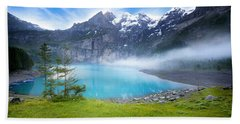 Beautiful Switzerland Beach Sheet