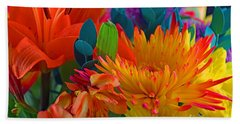 Beautiful To The Eyes  Beach Towel by Ray Shrewsberry