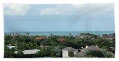 Beach Towel featuring the photograph Beautiful Vero Beach Florida by Megan Dirsa-DuBois