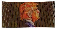 Donald Looser - Fence Dream Beach Towel by Maciek Froncisz