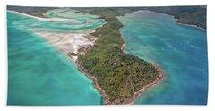 Beautiful Whitsundays Beach Towel by Az Jackson