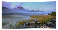 Beach Towel featuring the photograph Beauty Creek Dawn by Dan Jurak