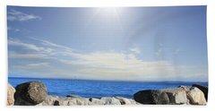 Beauty In The Distance Beach Sheet