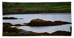 Beach Towel featuring the photograph Beauty On The Rocks by Patricia Griffin Brett