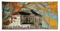 Beauty Surrounds Deserted Home Beach Towel
