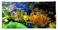 Beauty Under The Sea Beach Towel