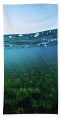 Beauty Under The Water Beach Sheet
