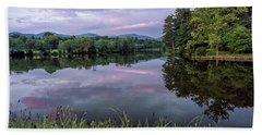 Beaver Lake Reflections Beach Sheet