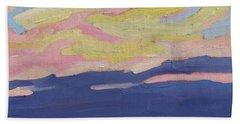 Beaver Sunset Beach Towel
