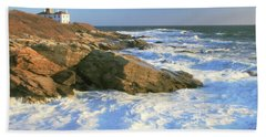 Beavertail Point And Lighthouse  Beach Sheet
