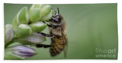 Busy Bee Beach Towel by Andrea Silies