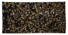 Bee Hive Beach Towel