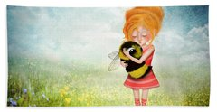Bee Whisperer Beach Towel