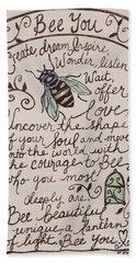 Bee You Beach Towel