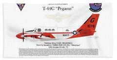 Beechcraft T-44c Pegasus Beach Towel