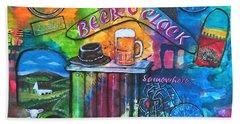 Beer O'clock Beach Towel
