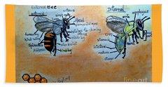 Bees  Beach Sheet