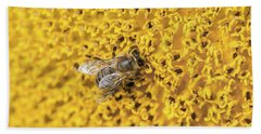 Buzy Bee  Beach Towel