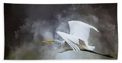 Before The Storm Beach Towel by Cyndy Doty