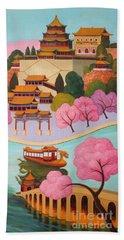 Beijing Summer Palace Beach Towel