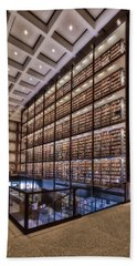Beinecke Rare Book And Manuscript Library Beach Towel