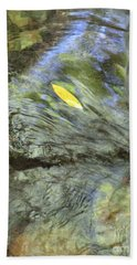 Beach Towel featuring the photograph Being Still by Marie Neder