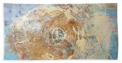Being Universe. From Chaos To Order Beach Towel