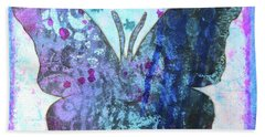 Believe Butterfly Beach Towel