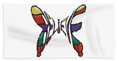 Believe-butterfly Beach Towel
