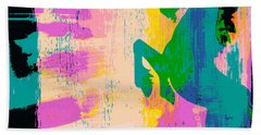Believe In Unicorns Beach Towel by Brandi Fitzgerald