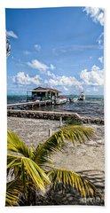 Belizean Marina Beach Towel