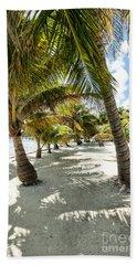 Belizean Palms Beach Towel