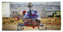 Bell 47 Beach Towel