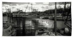 Bell Haven Docks Beach Towel