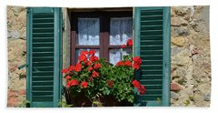 Bella Italian Window  Beach Sheet
