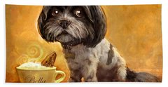 Bella's Biscotti Beach Towel by Sean ODaniels