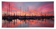 Bellingham Sunset Beach Towel