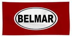Belmar New Jersey Home Pride Beach Towel