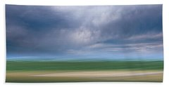 Below The Clouds Beach Towel