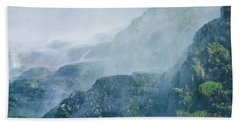 Below Wallace Falls Beach Towel
