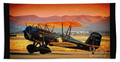 Ben Scott's Stearman Speedmail 4e Version 2 Beach Towel