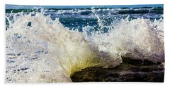 Beach Towel featuring the photograph Bending Backwards by Randy Bayne