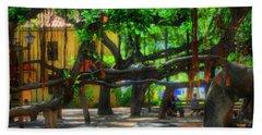 Beneath The Banyan Tree Beach Sheet